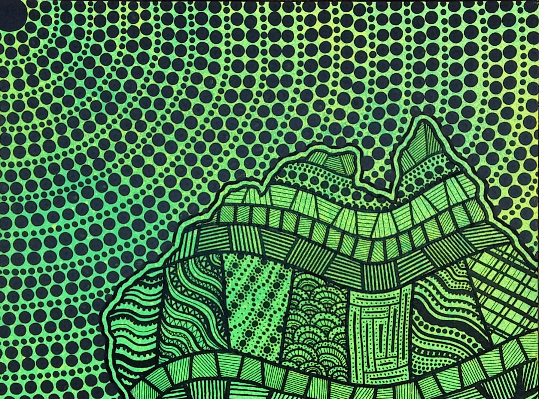 Green Top End Canvas