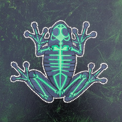 Green Tree Frog Canvas