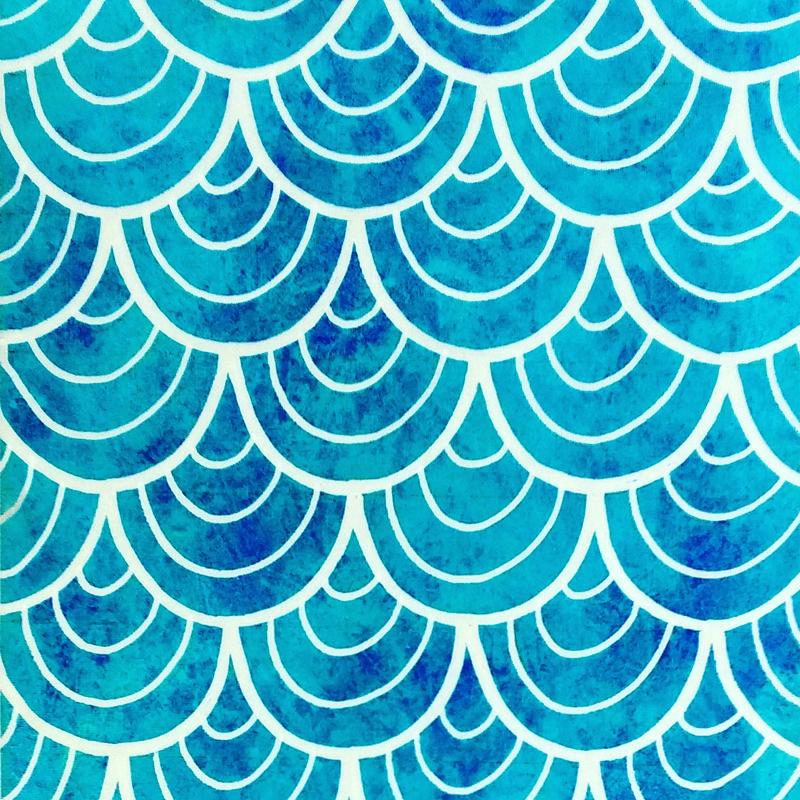Blue Sea Pattern
