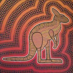 Kangaroo Canvas