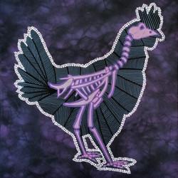 Xray Chicken Canvas