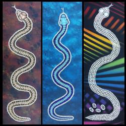 Snake Canvas Set
