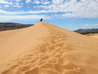 What the Heck was Grandma Doing at the Sand Dunes?