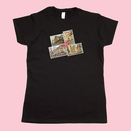 Women's T-Shirt - Four Stamps A
