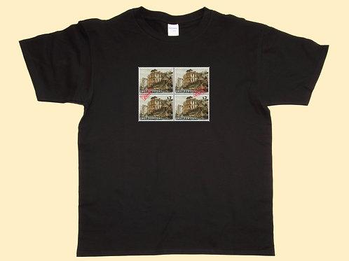 Men's T-Shirt - Four Stamps B