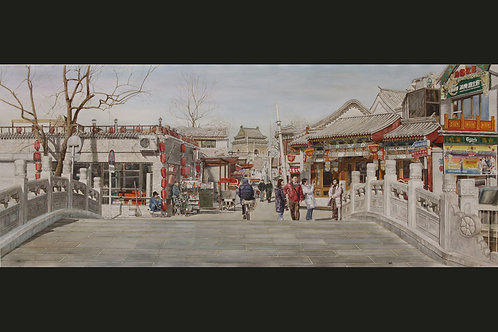 Original Art - Yinding Bridge in Winter