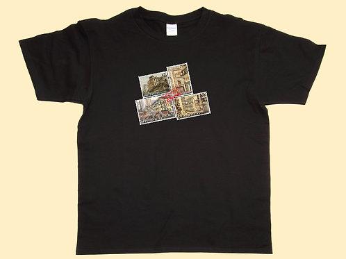 Men's T-Shirt - Four Stamps A