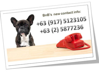 BnB got new contact numbers