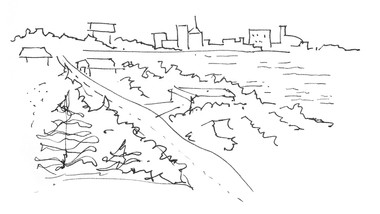 City sketching