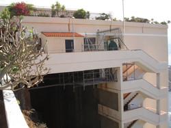 Saneamiento puente La Matanza