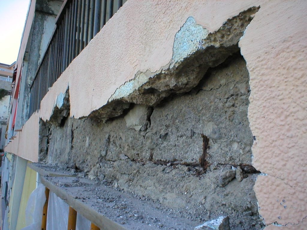 Saneamiento fachada Tacoronte