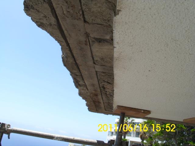 Saneamiento estructura escalera La Matanza (1)