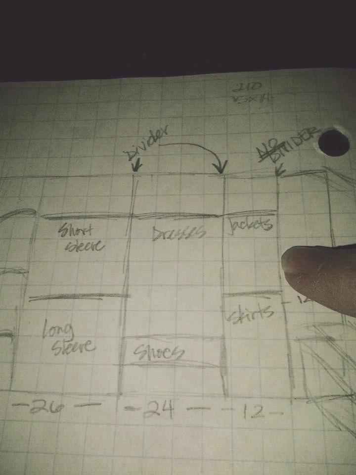 GR MB closet plans