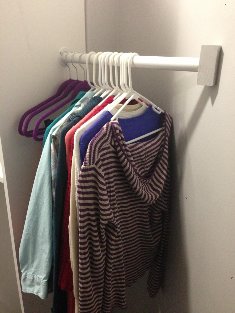Chloe's corner closet