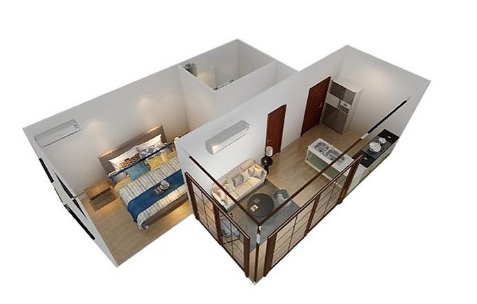 Kleinraum Appartments LTX 25 m2