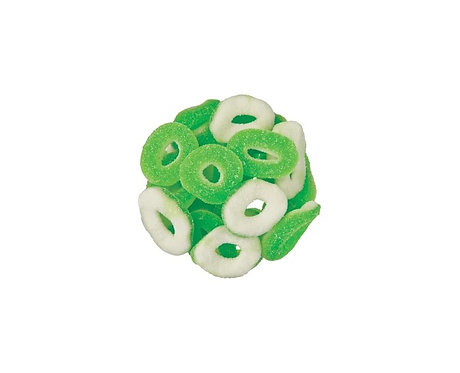 Gummy Apple Rings