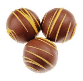 Truffles Dessert - Hazelnut -Milk