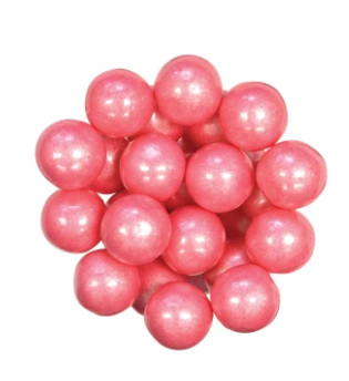 """Gumball - Shimmer Bright Pink (1"""")"""