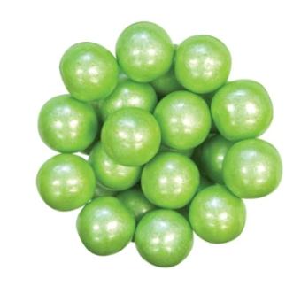 """Gumball -Shimmer Lime Green (1"""")"""