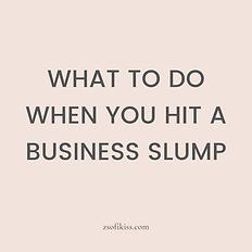 Business Slump