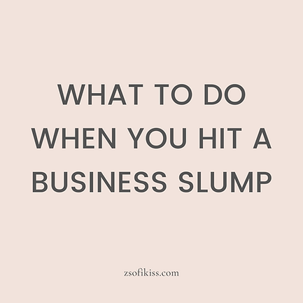 Business Slump