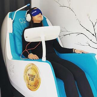 Le fauteuil O2CHAIR Développé avec des s