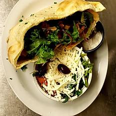 Vegetarian Pita Boat