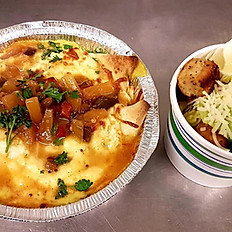 Chicken Curry Crepe