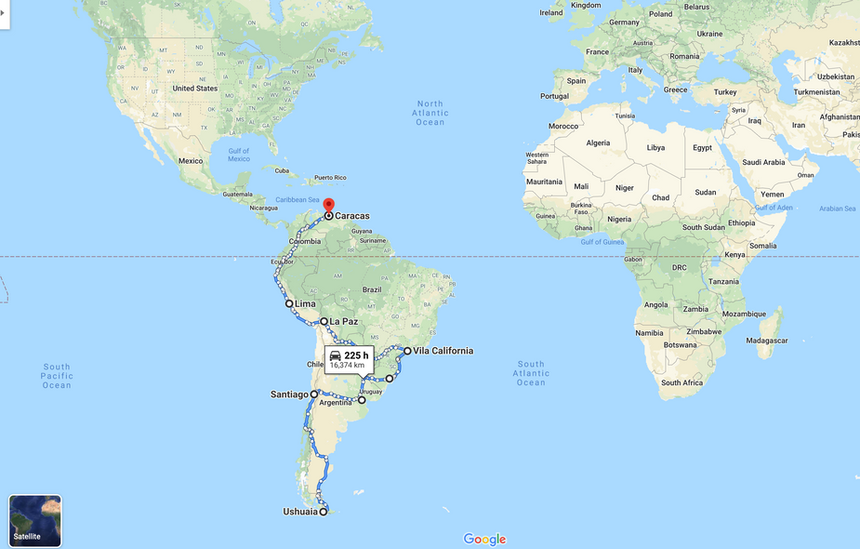 Sector 6 (South America)