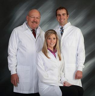 Dr. Tom Fagot, DDS and Dr. Tom Alexander, DDS and Dr. Jennifer Alexander, DDS
