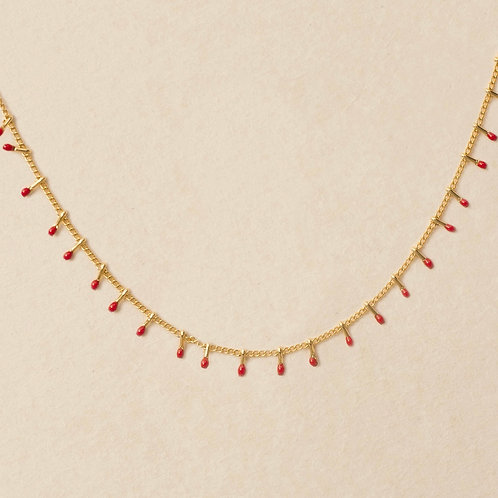 Red Cuba Necklace