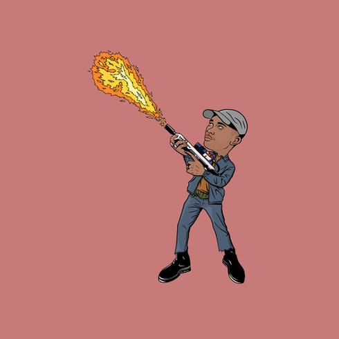 Personal illustration Toro Y Moi