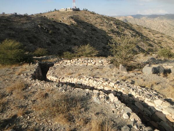 Symbol and significance of Nakfa Trench
