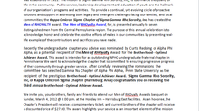 Men of RHOyalty Award: Brotherhood - Optimal Achiever Award