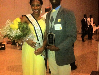 Easter Regional Miss Black & Gold