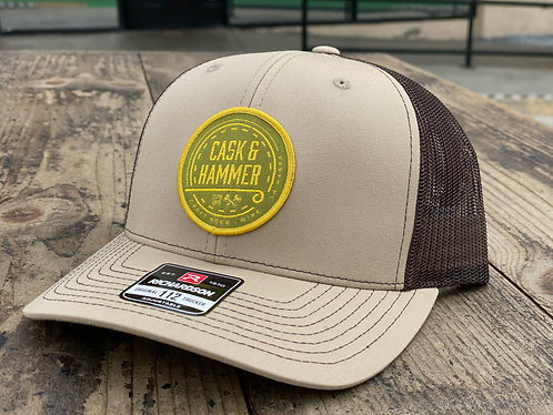 Cask and Hammer Patch Hat
