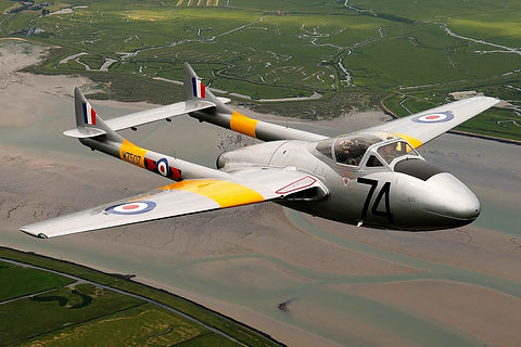 Airworthy de Havilland Vampire T11 for sale