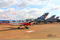 Scottish Aviation Bulldog - Team Pitbull - RIAT 2015
