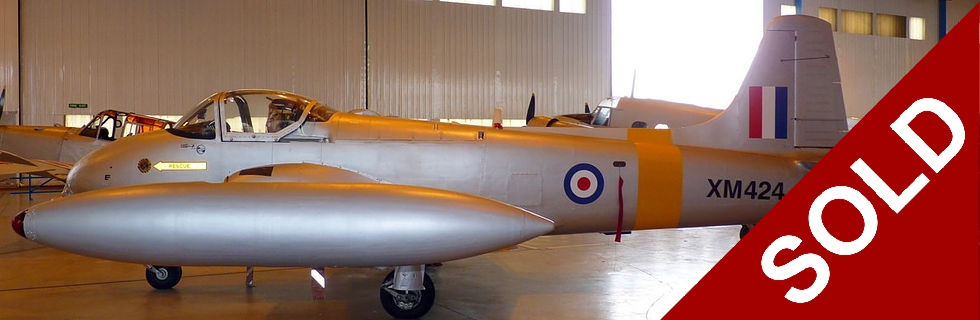 Hunting Percival Jet Provost T3A for sale