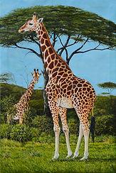 Serengeti Giraffes 36x24.jpg