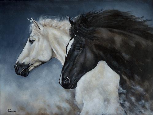 Black and White 18x24