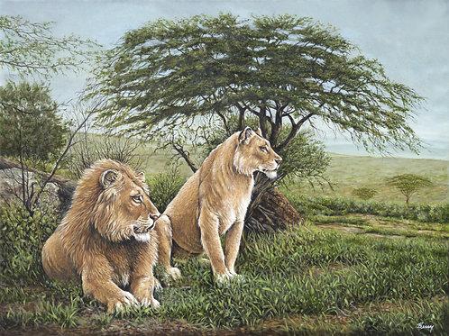 Masters of the Serengeti