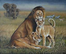 Serengeti Portrait 24x30.JPG