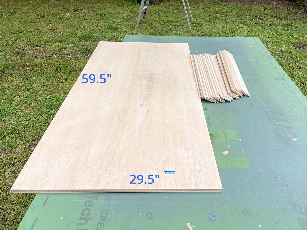 plywood countertop base