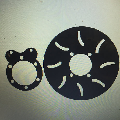 Basic 2.5ton Brake Kit 3/8""