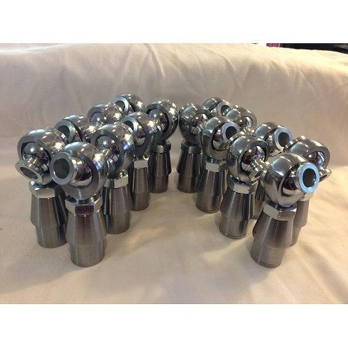 """Full Set of (16) 3/4x3/4"""" Chromoly Heim Joints"""