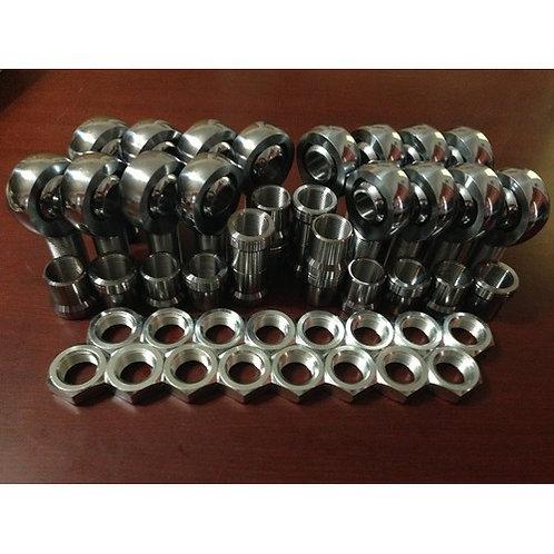 """Full Set of (16) 1.25x1"""" Chromoly Heim Joints"""
