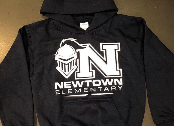 Navy Hoodie Sweatshirt