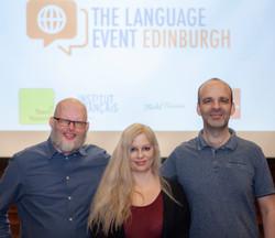 The Language Event Edinburgh Organisers
