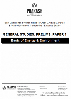 Basics of Energy and Environment Notes - (AP Singh Sir)